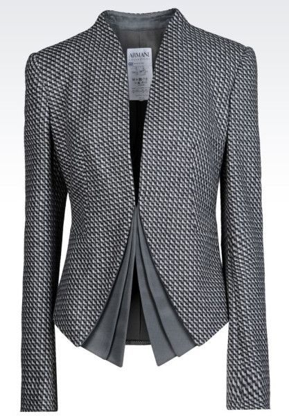 Armani Cashmere and Wool-Blend Dinner Jacket in Gray (Grey)   Lyst