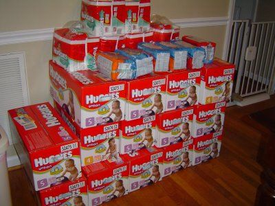 Saving money on diapers: How one mom of twins stocked up and saved.  - How Do You Do It? hdydi.com
