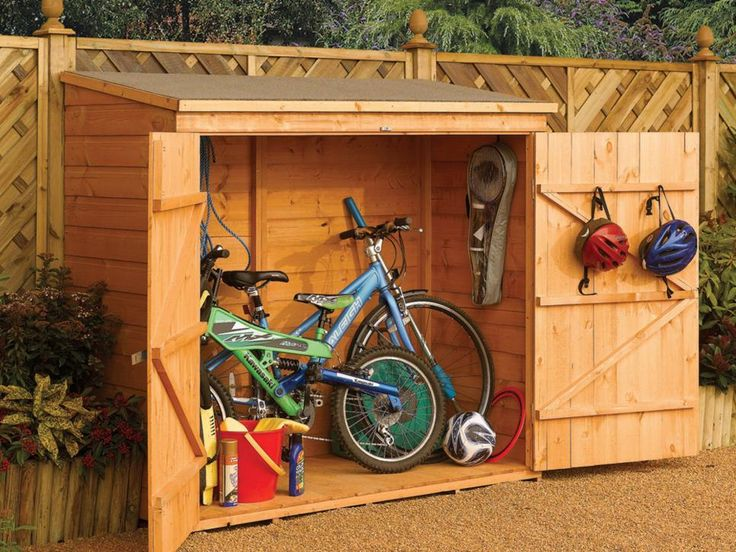 8 Best Outdoor Bike Storage Images On Pinterest