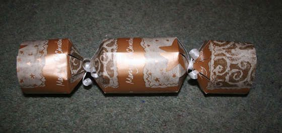 We have these in New Zealand on Christmas...make your own crackers.