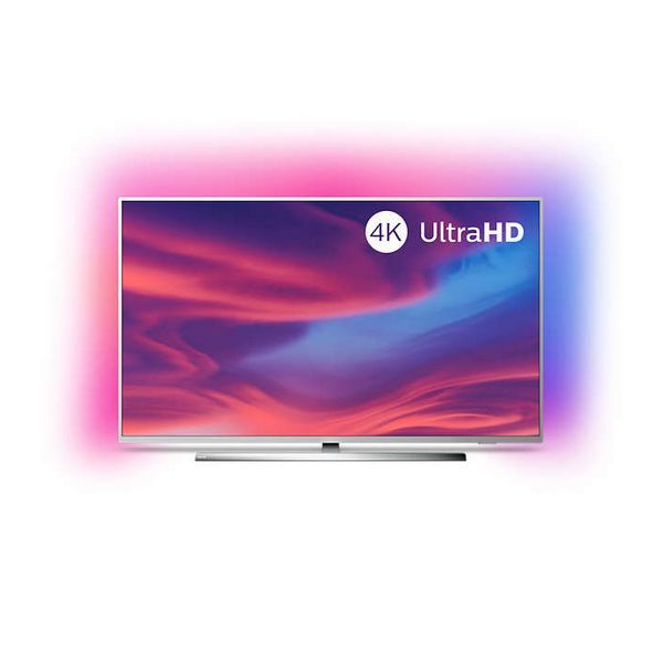Smart Tv Philips 50pus7354 50 4k Ultra Hd Led Wifi Ambilight Silver In 2020 Smart Tv Samsung Android Tv Led