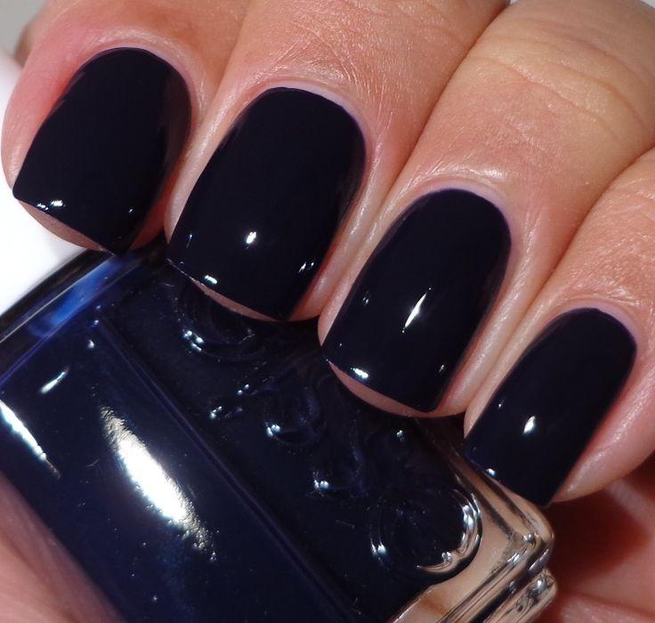 1000+ Ideas About Dark Blue Nails On Pinterest