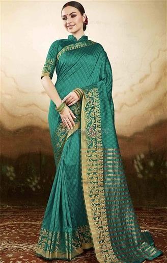 Graceful Green Raw Silk Printed Simple Saree Blouse Design   #DesignersAndYou #Sarees #SareeBlouse #Saree #DesignerSarees #BuySareesOnline #SareesDesigns #LatestSarees #CasualSarees #CheapSarees #BeautifulSarees #SareesIndia #LaceSarees #SareeswithPrice #DesignerSaree #DesignerSareeBlouse #CasualSaree #CasualSareeBlouse #LatestSaree #LatestSareeBlouse #BuySareeOnline #BuySareeBlouseOnline