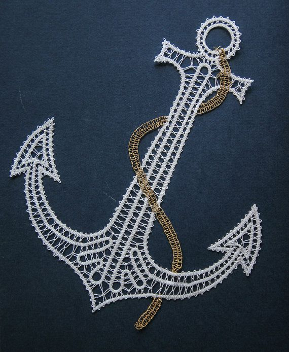 Anchor Of Happiness by iCipka on Etsy, $37.00