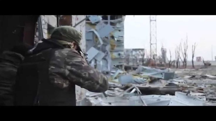 Driving Donetsk Airport – Ukraine war