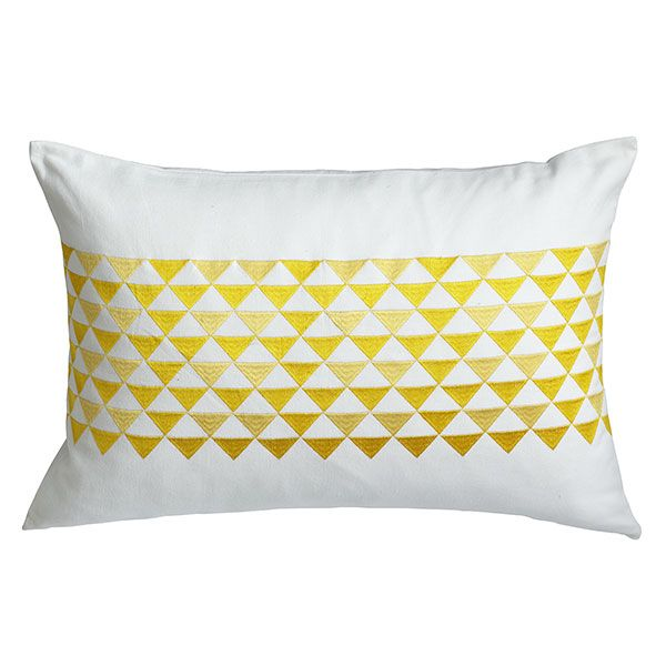 Wisteria - Accessories - Shop by Category - Throw Pillows -  Pyramid Pillow - Day - $39.00
