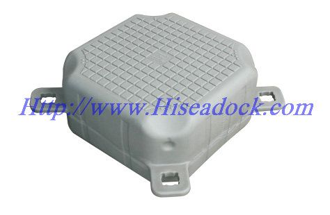 small floating pontoon cubes  size :500x500x250mm