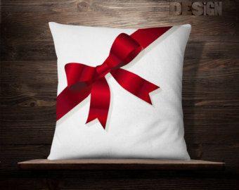 Cajas de regalo Arco Almohada Navidad por iwantitalldesign