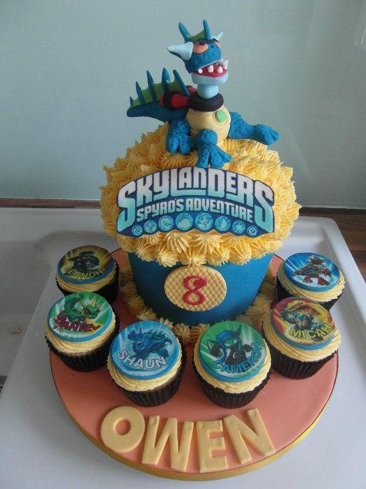 36 best Skylanders cake images on Pinterest Boy cakes Birthdays