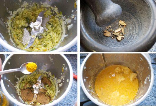 El korma es un curry suave, poco o nada picante, a base de verduras, carne o pescados, cocinados con especias y leche de coco, nata o yogurt. Normalmente se sirven con frutos secos, en este caso anacardos, que completan este delicioso korma de pollo, curry cremoso de la India con Thermomix®. Si no toleras mucho …