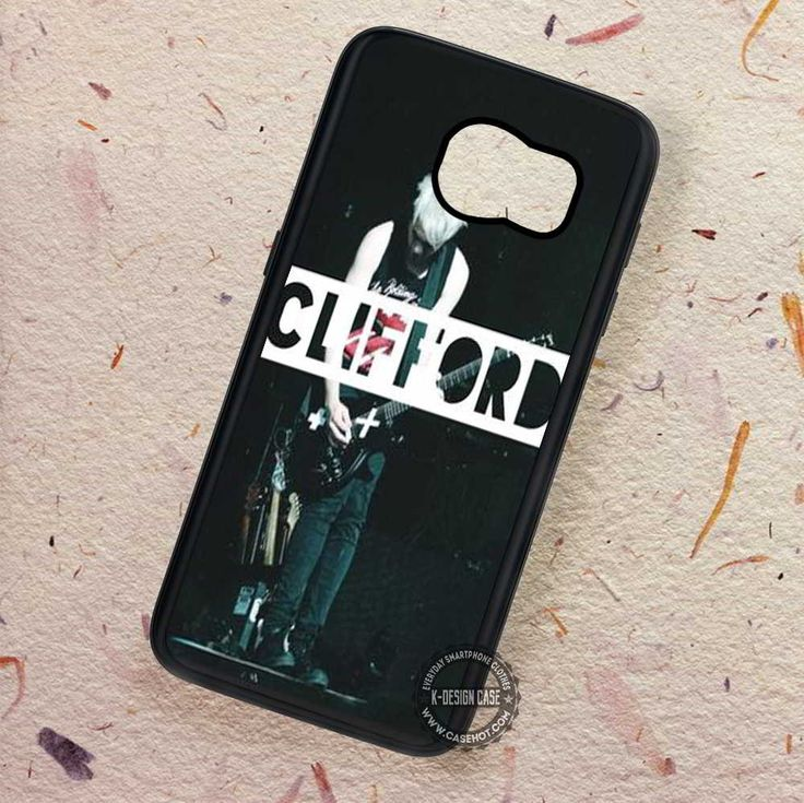 Mikey Clifford Guitar 5sos - Samsung Galaxy S7 S6 S5 Note 7 Cases & Covers