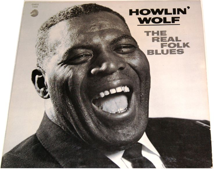 Howlin' Wolf The Real Folk Blues LP  Chess Records Circa 1966
