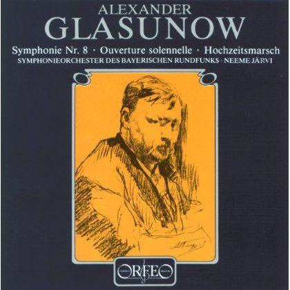 Symphonieorchester Des Bayerischen Rundfunks - Glazunov: Symphony No. 8
