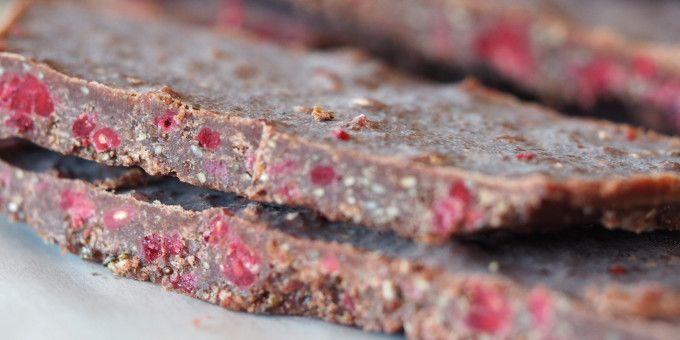 I Quit Sugar - Cacao + Raspberry Slab