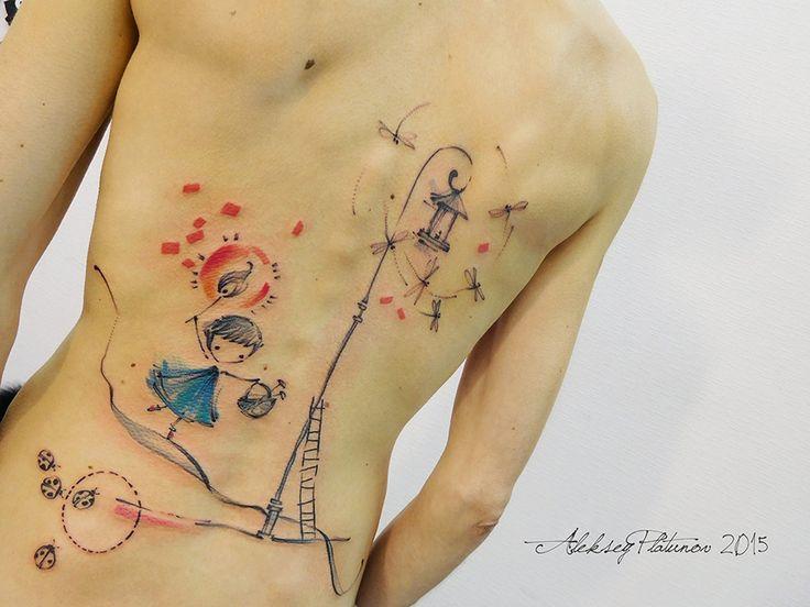 17 best images about aleksey platunov tattoos on pinterest. Black Bedroom Furniture Sets. Home Design Ideas