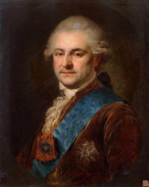 Stanisław August Poniatowski by Johann Baptist Lampi