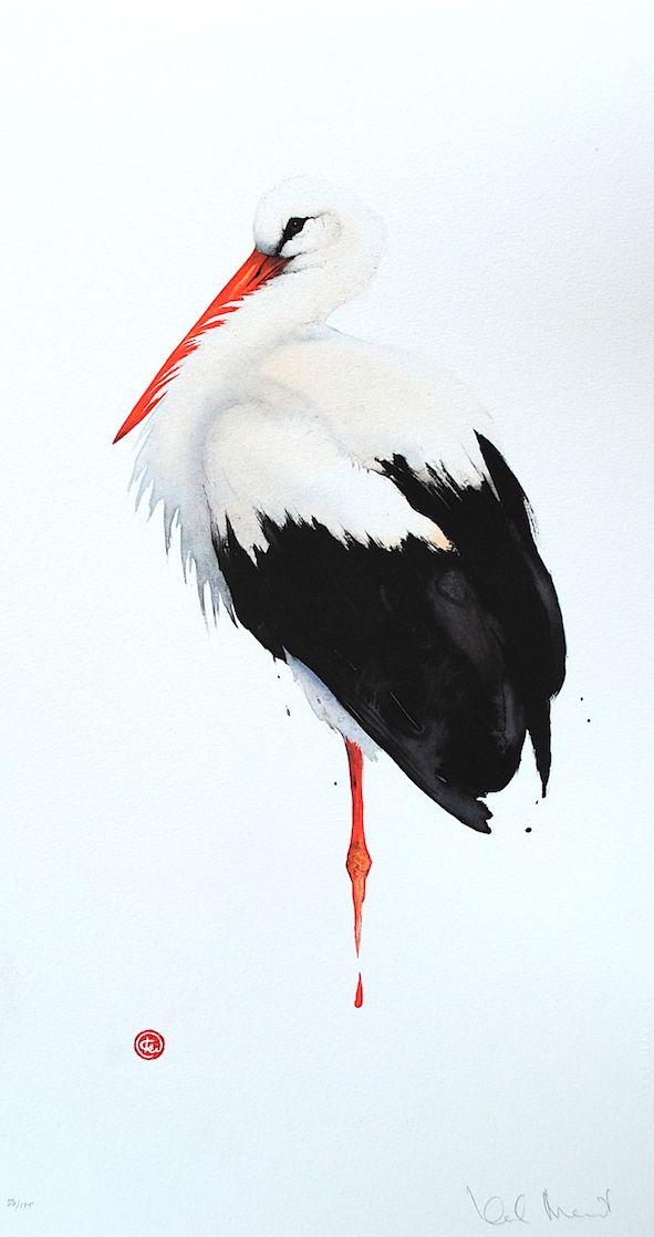 Stork..http://www.galleribacklund.se/artists/karl-martens/