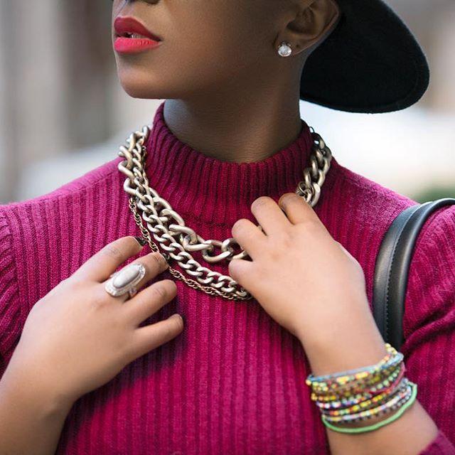 All Details Matter.  👸🏾 @anneconventional  📷 @nestle_snipes412  #blogger #streetstyle #streetfashion #naturalista #kenyan #photography #sunlight #natural #naturallight #asianbeauty #HMOOTD #instafashion #editorial   #laugh #purple #fashionable #zara #hm #happy #nycfashion #hautecouture #mfkphotography #mfkphoto #liketkit #wwwwinter30