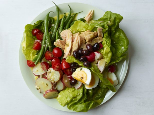 Classic Nicoise Salad Recipe : Food Network Kitchen : lovely with Chardonnay! Try Lapostolle Chardonnay.