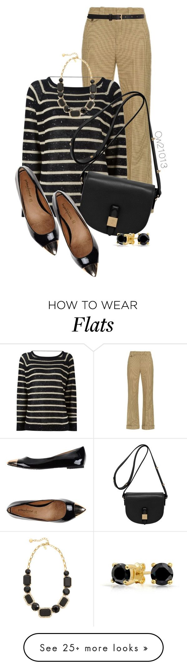"""""""Untitled #1569"""" by cw21013 on Polyvore featuring Chloé, Brunello Cucinelli, Barneys New York, Mulberry, PrimaDonna, Kate Spade and Bling Jewelry"""