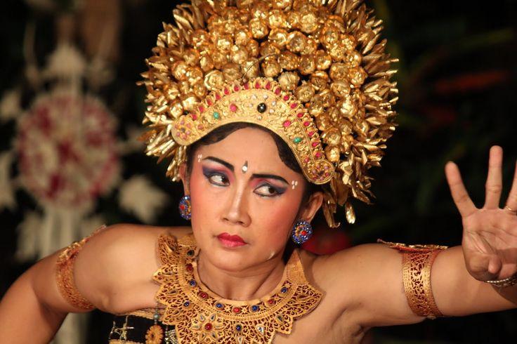 La danse au Palais d'Ubud