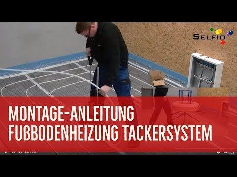 Fußbodenheizung Tackersystem für Selberbauer | Trockenbau