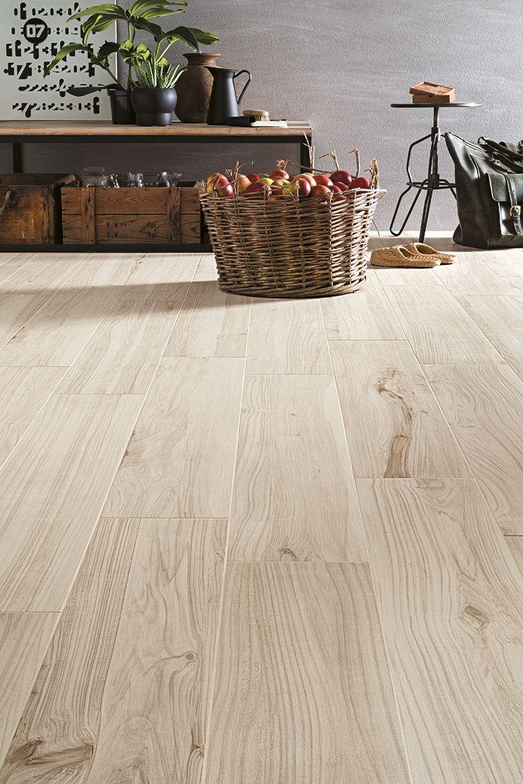 KORU is the new collection of porcelain stoneware strips by Mirage, a project that seeks to offer a reinterpretation of the types of wood of fruit trees. #miragetile #porcelaintiles #wood #floor #interiordesign