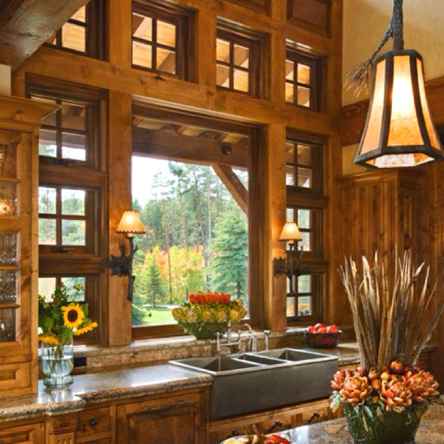 Amazing Kitchens: 1000+ Images About Log Houses On Pinterest