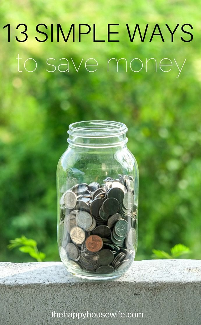 Are you looking to save money this year? Here are 13 simple ways to save money that anyone can do without even trying.