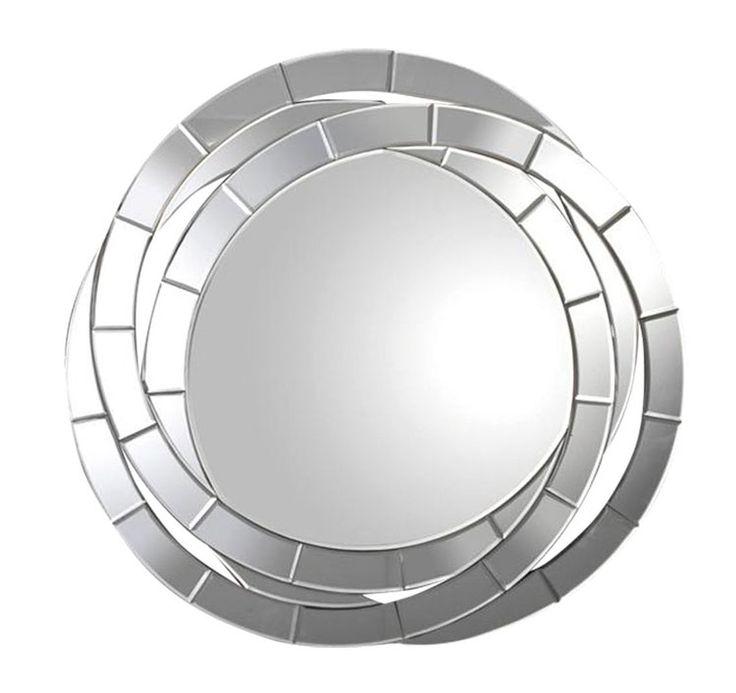 Espejo veneciano 3 - Marco de anillos entrelazados
