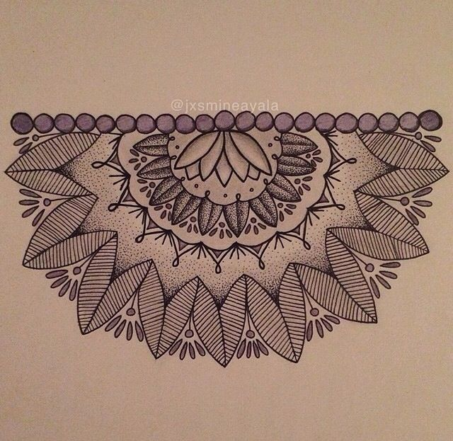 Half mandala -- Going to save for this.