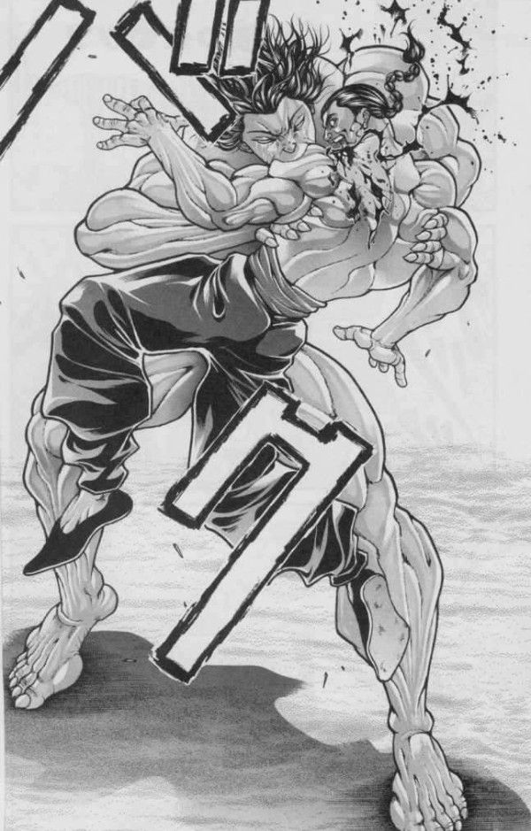Baki Retsu Vs Pickle With Images Comic Art Character Design