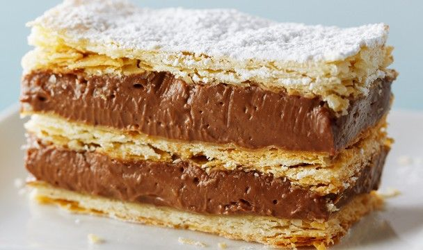 Chocolate Hazelnut Napoleon | Bake with Anna Olson | The Home Channel. One of my all time favorites!