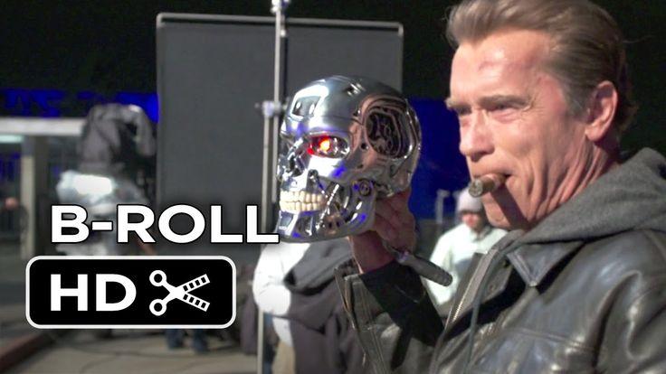 Terminator Genisys B-ROLL (2015) - Arnold Schwarzenegger, Emilia Clarke ...