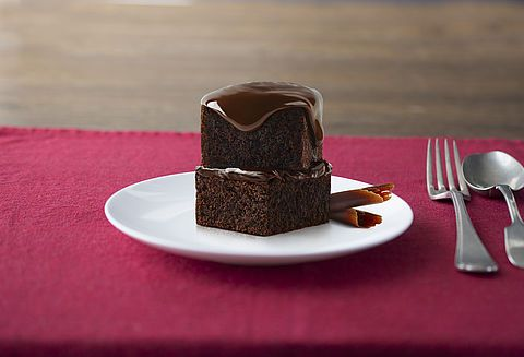 Moist, rich and with amazing chocolate flavour.  Our Master Chocolatiers absolute 'Go to' Chocolate Cake.