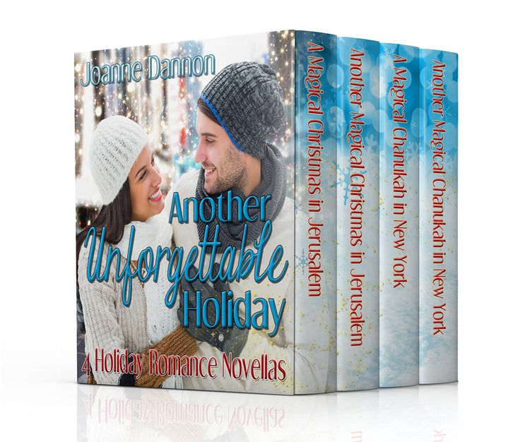Four holiday romances in one romantic set.