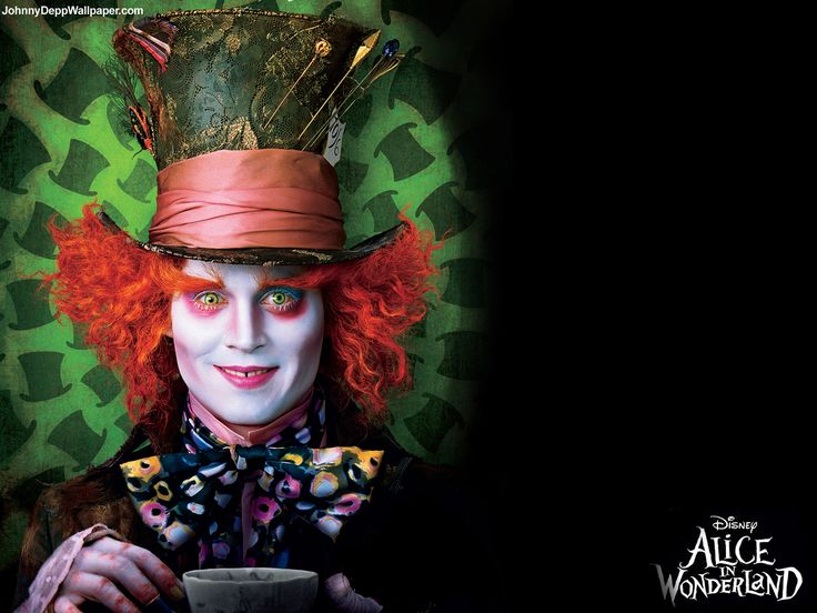Johnny Depp Wallpaper - alice in wonderland wallpaper - alice-in-wonderland-2010 Wallpaper
