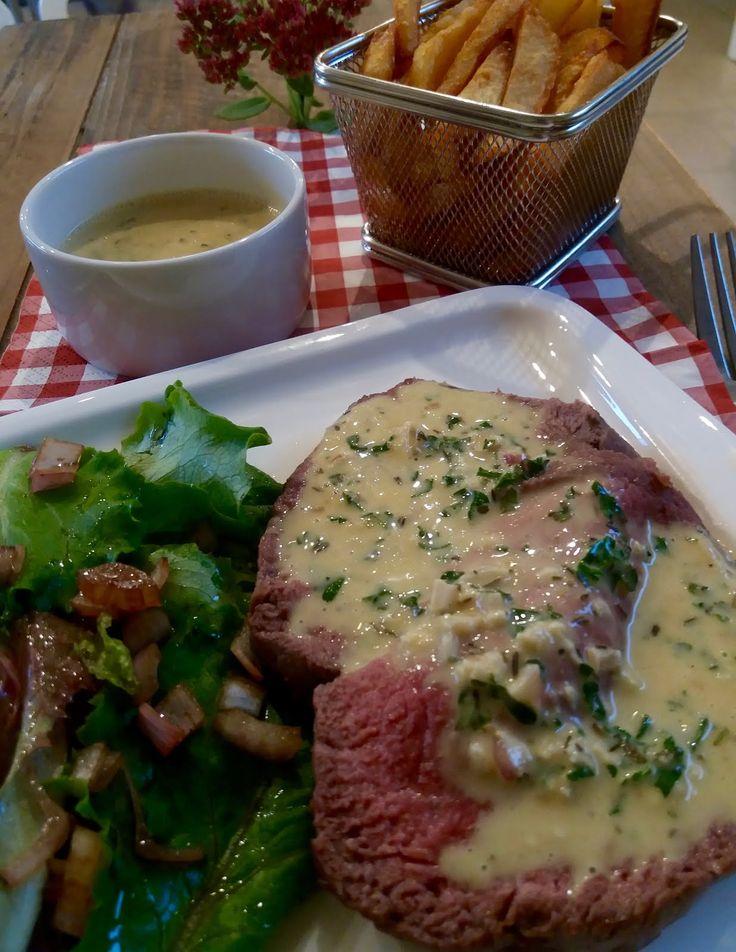 roti de boeuf sauce café de Paris