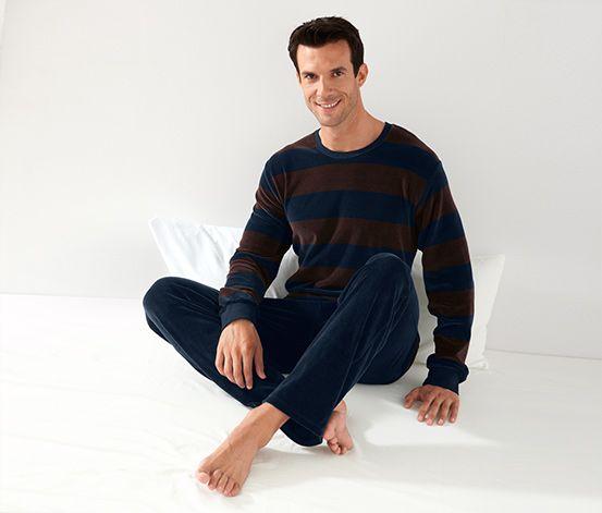 Pyžamo z plyšovej tkaniny