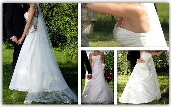 ♥ Brautkleid Größe 36 reine Seide ♥  Ansehen: https://www.brautboerse.de/brautkleid-verkaufen/brautkleid-groesse-36-reine-seide/   #Brautkleider #Hochzeit #Wedding