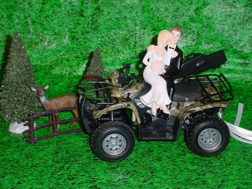 18 best CAMO WEDDING CAKE TOPPERS images on Pinterest Camo