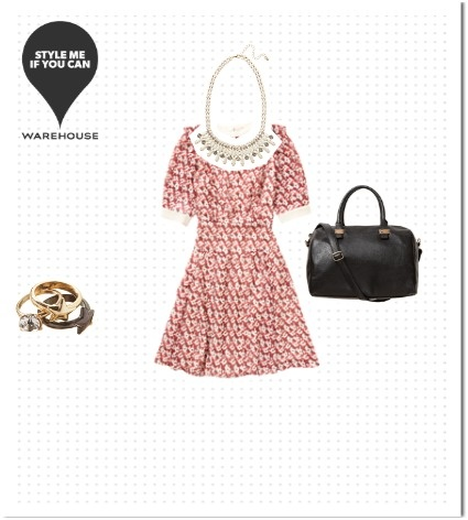Check out the Warehouse outfit I styled \ create your own to win a - create a voucher