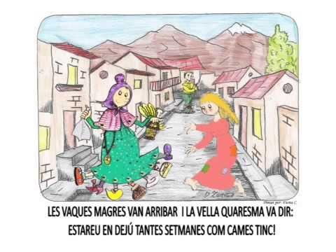Conte de Carnestoltes i la Vella Quaresma. Escola Fàsia - YouTube
