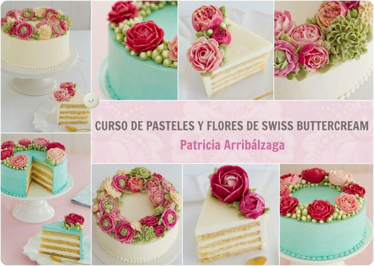 Curso Online de Pasteles y Flores de Swiss Buttercream de Patricia Arribálzaga