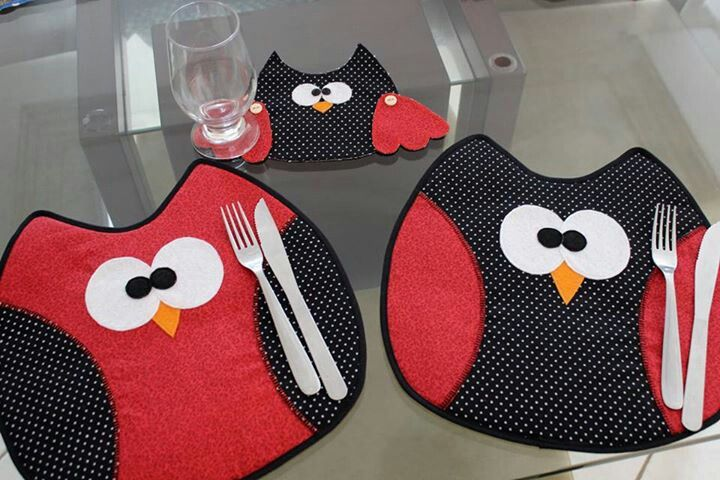 That's so cute! And red and black are our kitchen colors so that combo works well!