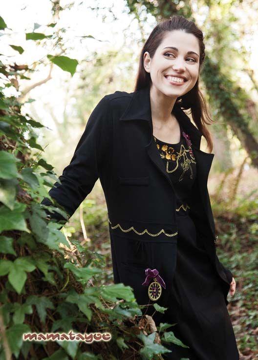 Dress: Doradilla / Coat: Cucumela www.mamatayoe-shop.com