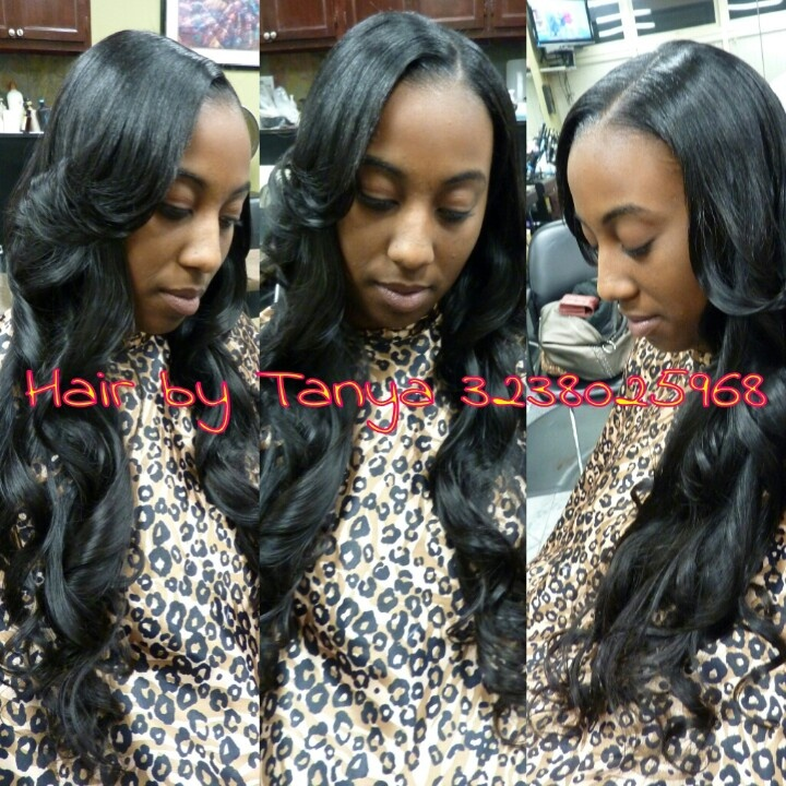 8 best weaves images on pinterest braids dont care and hair beauty partial sewed in weave natural looking weave pmusecretfo Gallery