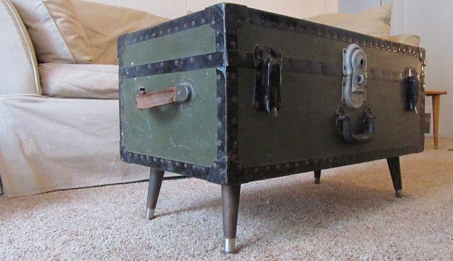 foot locker coffee table