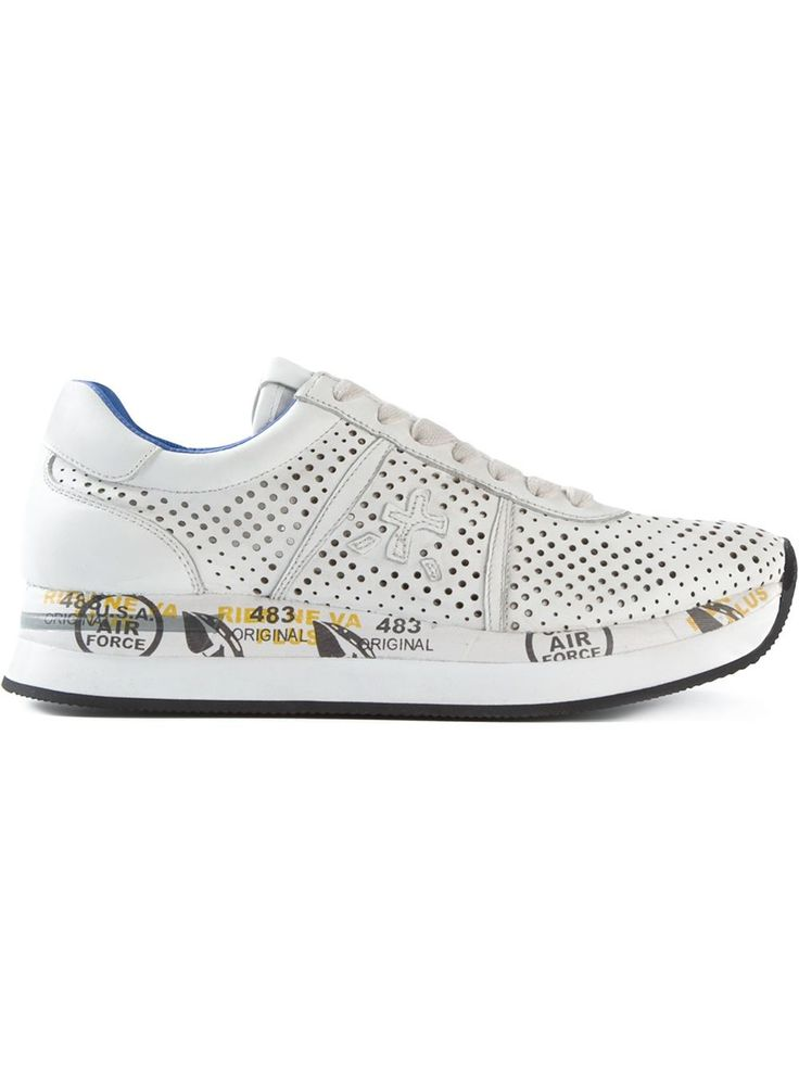 #premiata #sneakers #connie #white #trainers #leathersneakers #womens  #womensfashion
