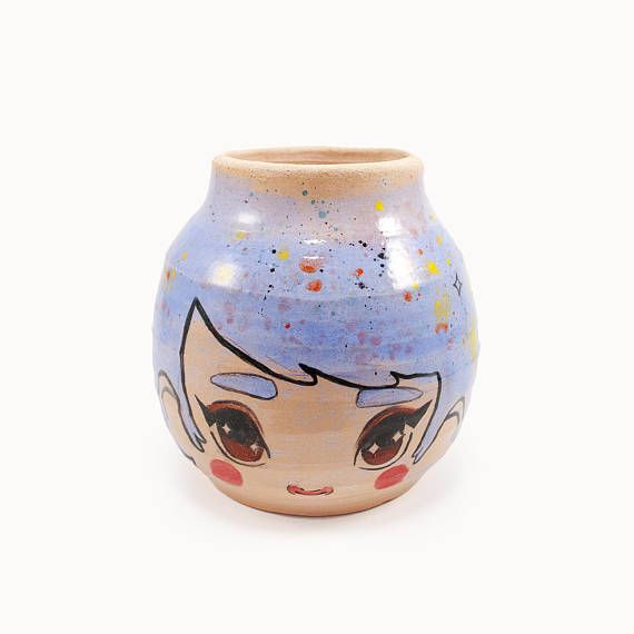 wide #eyed #girl #vase - wheel thrown #ceramicvase. Get similar product research. https://www.fiverr.com/masummultimedia/do-amazon-aliexpress-alibaba-product-research
